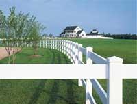 绿化隔离栏